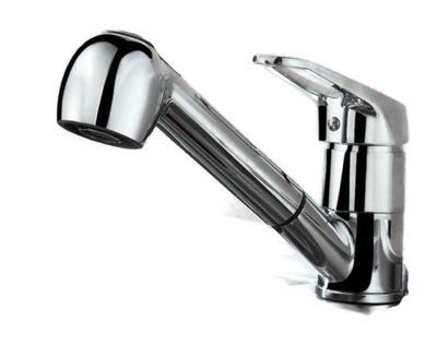 Umývadlový kohútik, výsuvná sprcha- AURALUM
