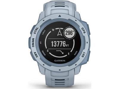 Szaro-niebieski Zegarek sportowy GARMIN Instinct