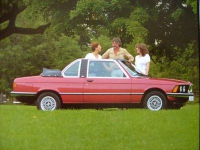 BMW СЕРИЯ 3 E21 BAUR CABRIOLET / CОСТОЯНИЕ В ОЧЕНЬ ХОРОШЕМ СОСТОЯНИИ