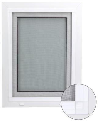 Moskitiera na okno na wymiar do złożenia siatka