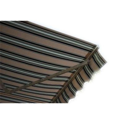 маркиза терраса 500x300 Без-зеленый белая STD