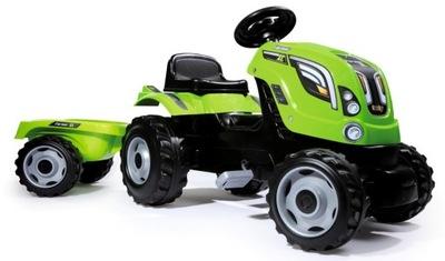 SMOBY Poľnohospodár Traktora prívesom Zelený XL 710111
