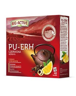 BIG ACTIVE - красная - пуэр лимон 40tb