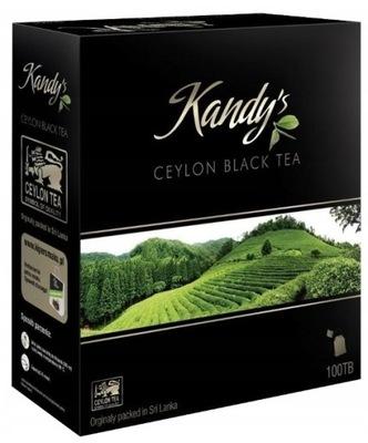 ??? черная Kandy'S Ceylon Black Tea 100 x 2g