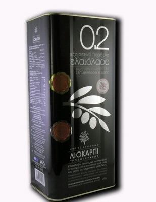 оливковое масло оливковое Ноль ,2  экстракласс 5Л ( Liokarpi )