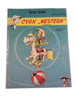 LUCKY LUKE - CYRK WESTERN 1992 r. wyd. I