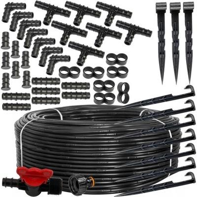 Linia kroplująca 100m + 50 szpilek / 87 akcesoriów