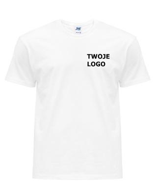 Koszulka firmowa męska T-shirt LOGO HAFT 10 szt