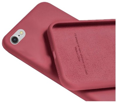 Etui Silicone Case do IPHONE 7 8 / SE 2020 + SZKŁO