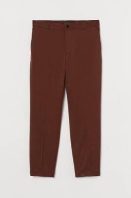 JOGGERSY Z DIAGONALU 36 S H&M spodnie