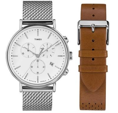 Zegarek męski Timex Chrono bransoleta + pasek
