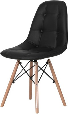 Мягкий стул черные Экокожа ??? салон