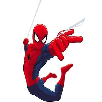 Naklejki na ścianę dla dzieci Spiderman
