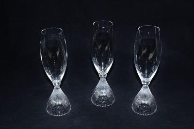 Riedel 3 kieliszki do szampana w oryg. opakow.