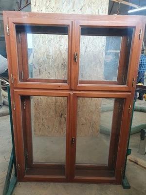 OKNA Skrzynkowe Drewniane 3 sztuki okno 127x187cm