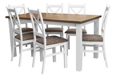 стол 6, стулья ??? кухни гостиной Белый Z540