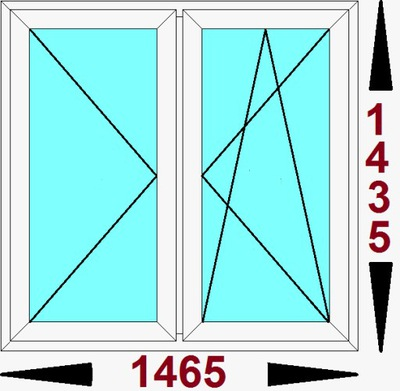 Okna na Allegro Tanie okna typowe, standardowe Wołomin