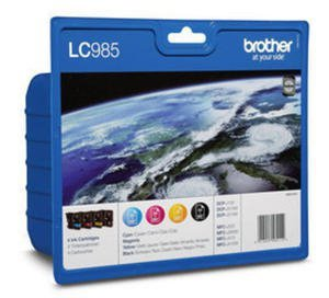 Brother Tusz LC985 CMYK 4pack