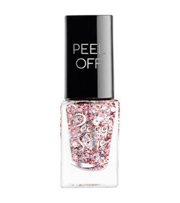 Peggy Sage Lakier do paznokci Peel Off Rose Glitte