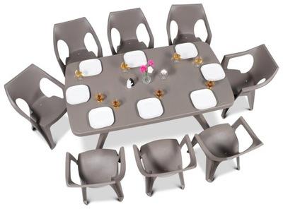 Curver Мебель садовое комплект БАЛТИМОР мебель 8 +1
