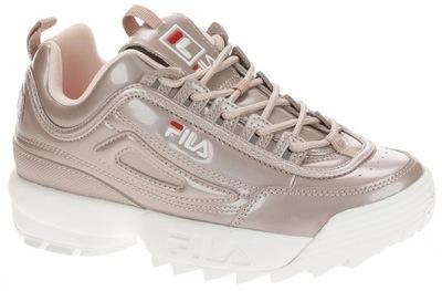 FILA DISRUPTOR ROSE SMOKE r. 37 adidasy Sneakersy