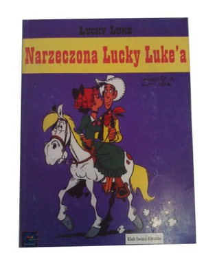 LUCKY LUKE - NARZECZONA LUCKY LUKE'A 2000 r.