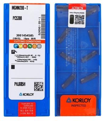 PŁYTKI WĘGLIKOWE MGMN 200 T PC5300 KORLOY