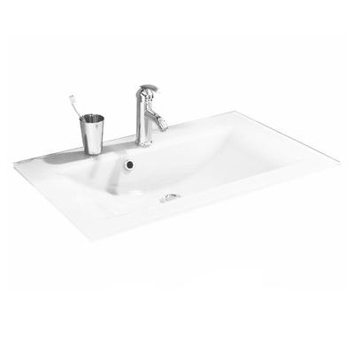 Sklenené kúpeľňové umývadlo 80 x 50 cm Fackelmann