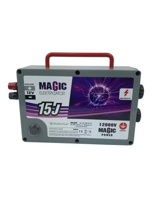 Elektryzator elektryczny MAGIC 15J mocny pastuch