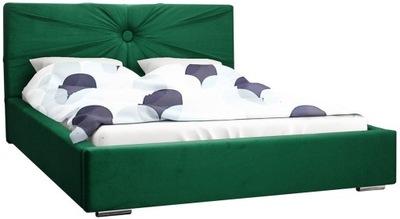 Stylowe łóżko MALIBU 140x200 cm pojemnik NOWOŚĆ
