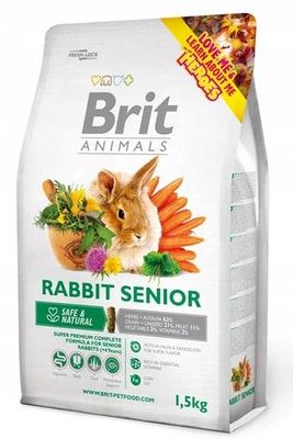 BRIT ANIMALS COMPLETE RABBIT SENIOR KRÓLIK 1,5kg