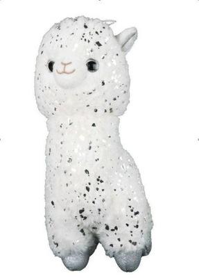 Lama maskotka pluszowa biała 30cm