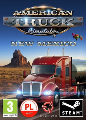 American Truck Simulator New Mexico PL klucz STEAM