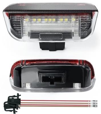 ПЛАФОН ОСВЕЩЕНИЕ LED (СВЕТОДИОД ) БАРДАЧКА VW EOS GOLF POLO