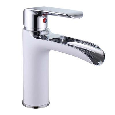 Umývadlový faucet ROYAL CARO RETRO BIELY CHROM