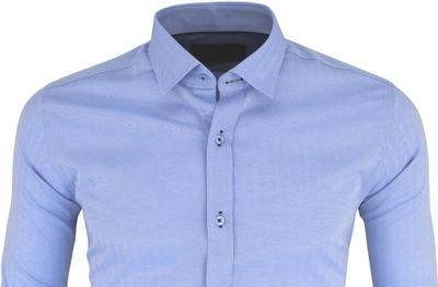 Koszula męska luźna bawełniana szara XXL 7929837539 Allegro.pl