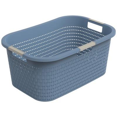 Kosz na pranie Rotho COUNTRY 40l - horizon blue