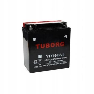 Akumulator Tuborg YTX16-BS-1 14.7Ah 240A AGM