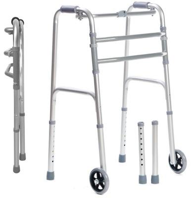 Balkonik dla osób starszych seniorów chodzik 3F