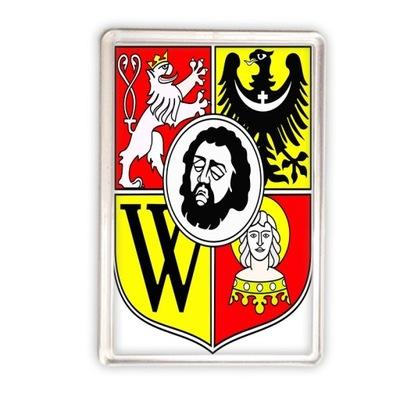 magnes akrylowy Wrocław