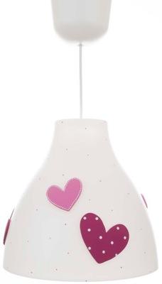 Lampa sufitowa Serca 3D Na Prezent