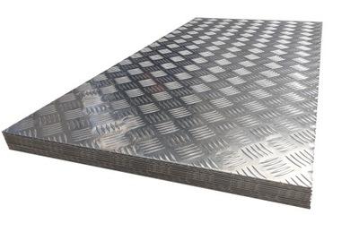 Blacha aluminiowa ryflowana 1000x500x2mm formatka