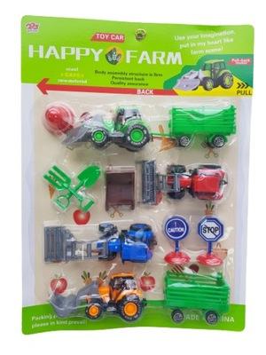 Zestaw MAŁEGO farmera na blistrze traktor C5834