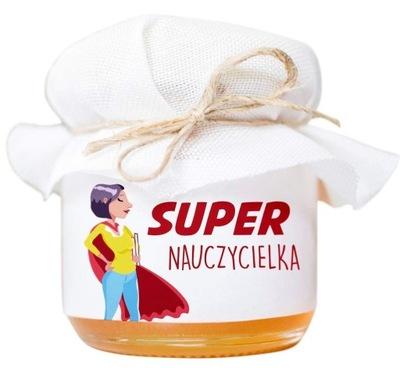 Prezent Dzień Nauczyciela Miodek Cukierki Żelki