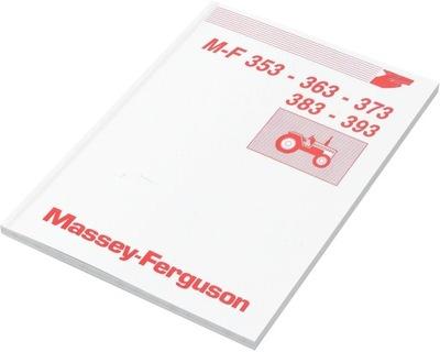 MANUAL MF MASSEY FERGUSON 353 363 373 383 393