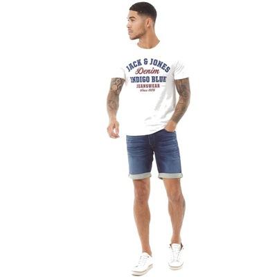 JACK&JONES krótkie spodenki szorty jeans S / M