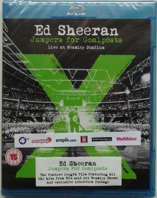 ED SHEERAN - Jumpers For Goalposts (folia) Blu-ray