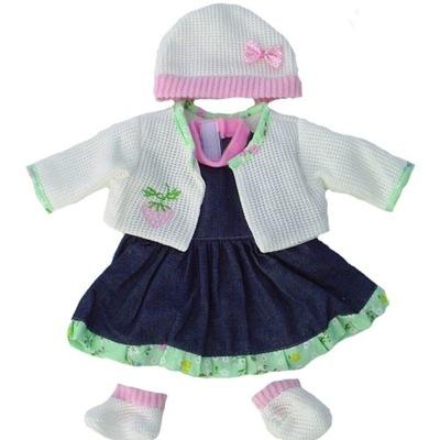 Súbor oblečenie pre bábiku, Sukne Klobúk Blúzka