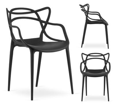 Krzesło SALA ażurowe NOWOCZESNE salon jadalnia