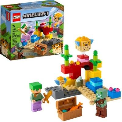 LEGO 21164 MINECRAFT Rafa Koralowa Alex SZYBKO